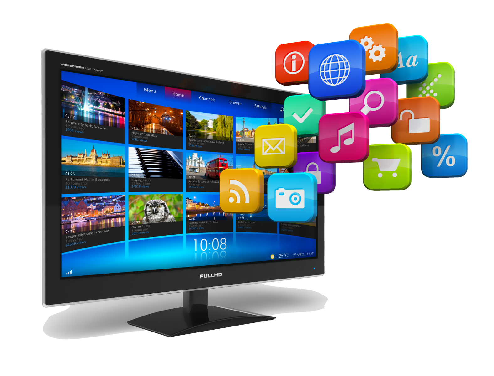 HOW TO INSTALL APPS IN YOUR SMART TV Social tv,