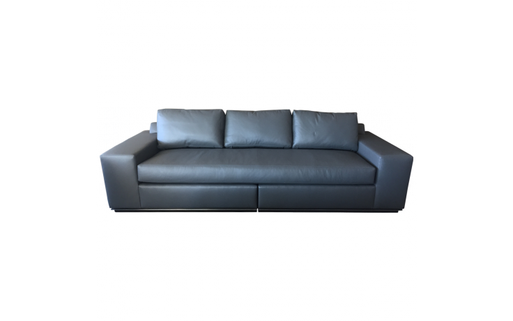 Contemporary Leather Sofa | Contemporary leather sofa, Leather sofas ...