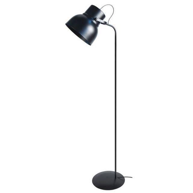 Lampadaire Liseuse Cloche H150cm Noir Lampadaire Liseuse Lampe Lampadaire