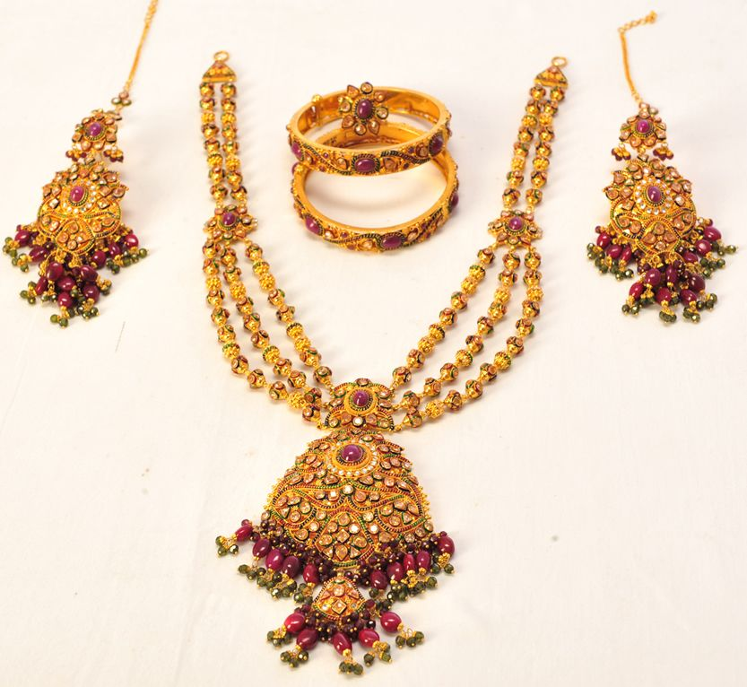 Product Name : SITA BOLL HAR SET Category Name : Weeding Jewellery ...