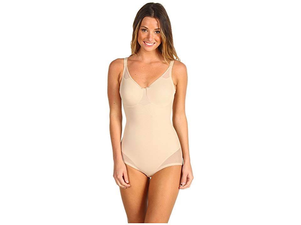 9fe18ccaa Miraclesuit Shapewear Extra Firm Sexy Sheer Shaping Bodybriefer (Nude)  Women s Bra. Look 10