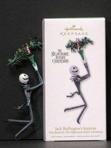 Hallmark Nightmare Before Christmas Ornaments.Hallmark 2010 Jack Skellington S Surprise Nightmare Before