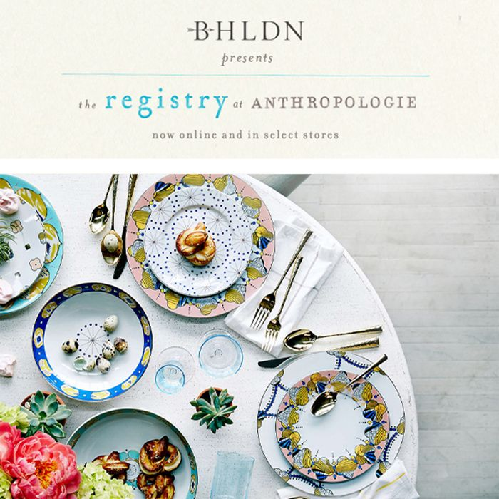 Start your dream wedding registry with anthropologie wedding start your dream wedding registry with anthropologie junglespirit Images