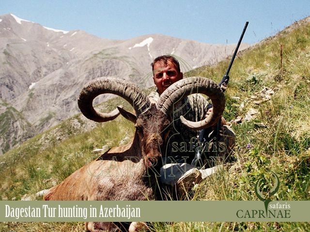 Dagestan Tur hunting in Azerbaijan