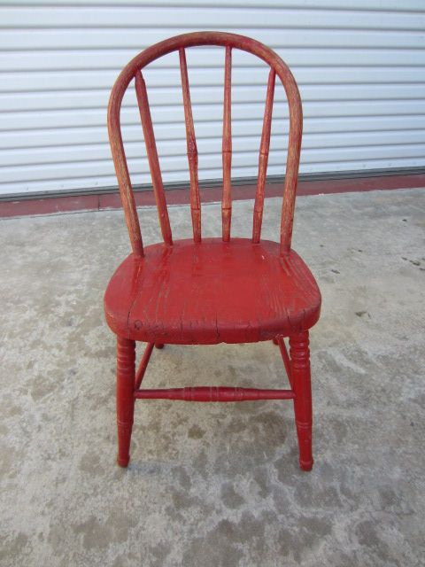 Antique Furniture Primitive Country American Antique Child's Chair - Antique Furniture Primitive Country American Antique Child's Chair