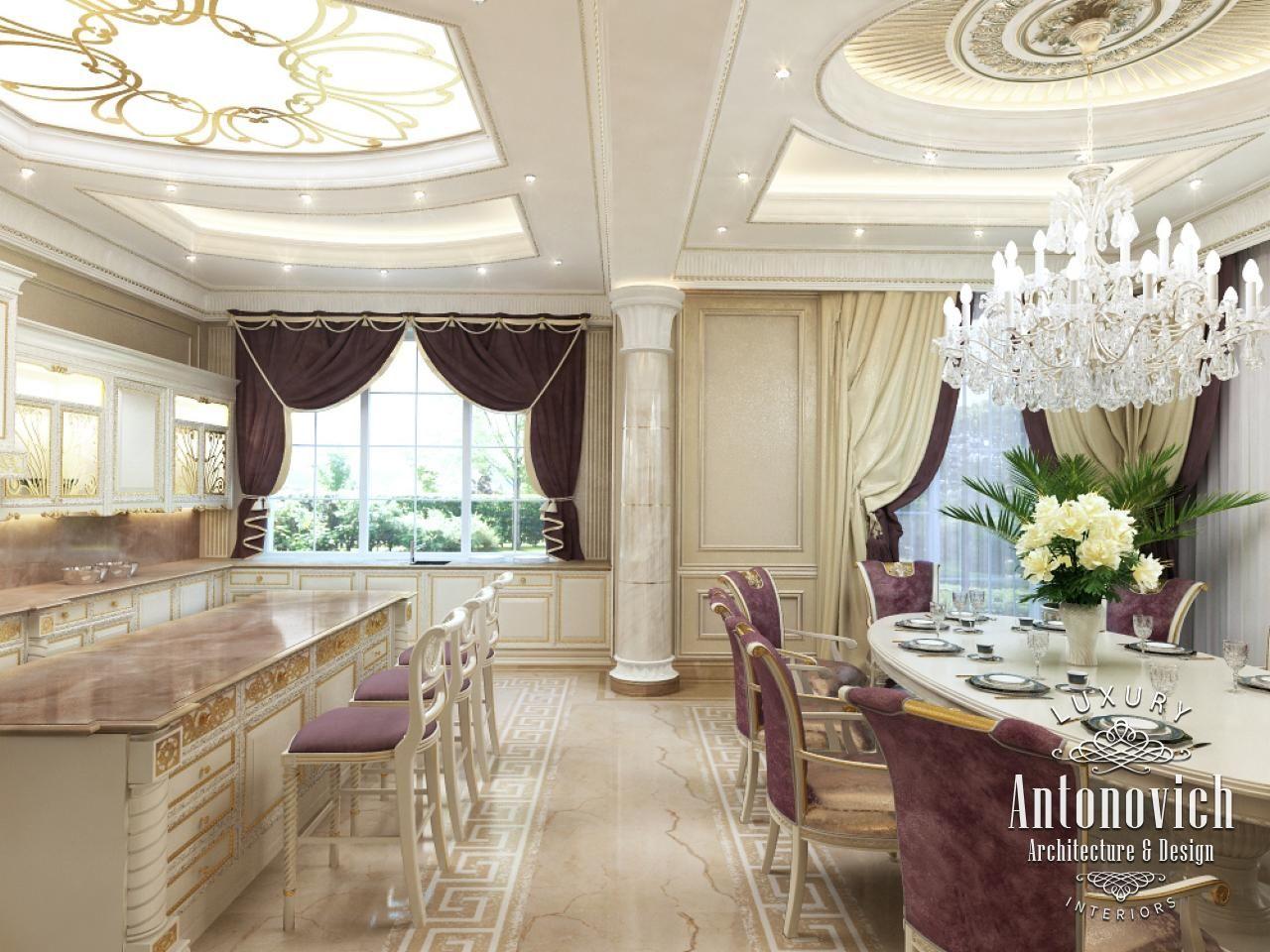 Kitchen Design In Dubai Classical Style UAE Photo 2