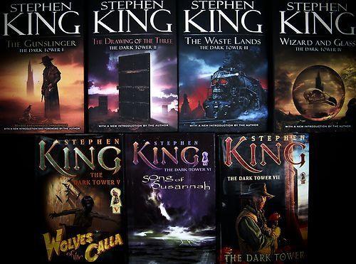 The Dark Tower Stephen King 7 Hardcover Book Series 1 7 The Dark