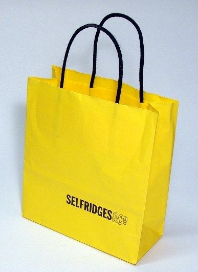 selfridges carrier bags - Google Search | Carrier Bag Design ...