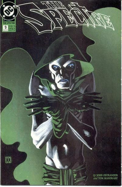 The Spectre #9 (1992 series) - cover by Matt Wagner