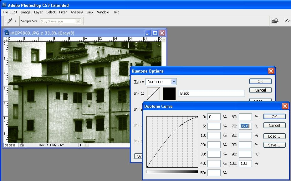 How to convert an image to a duotone in