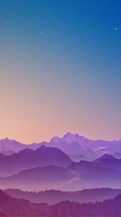 Mountain Range Wallpaper Galaxy S7 Edge Phone Wallpaper Iphone