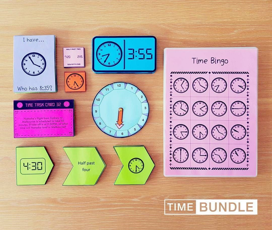 Time Mega Bundle Clock Template Math Measurement Activities Math Time [ 911 x 1080 Pixel ]