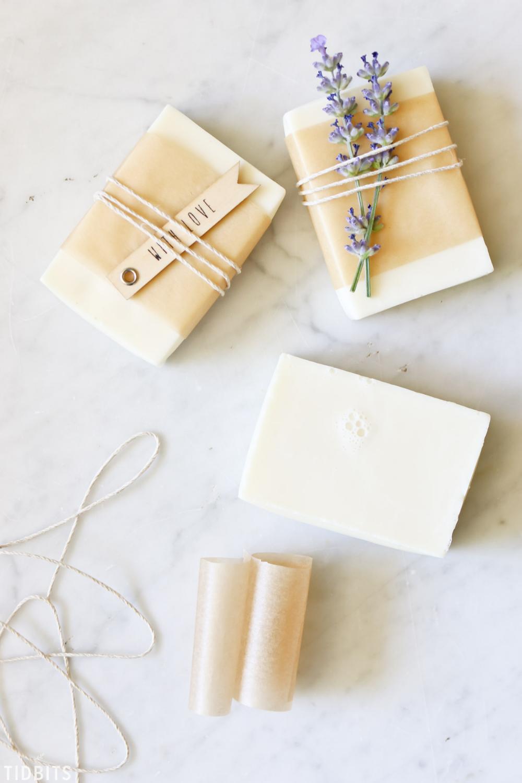 3 Ideas for Packaging Handmade Soap #soappackaging