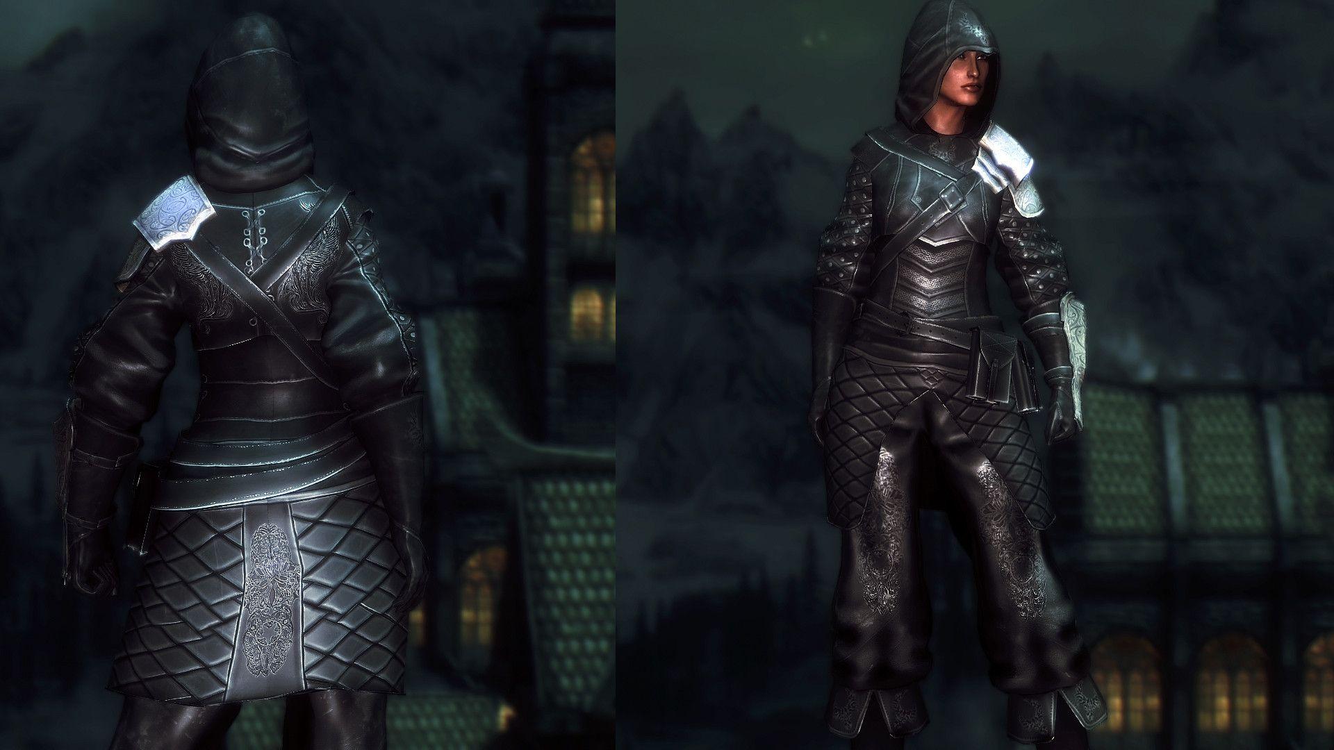 skyrim se immersive armor