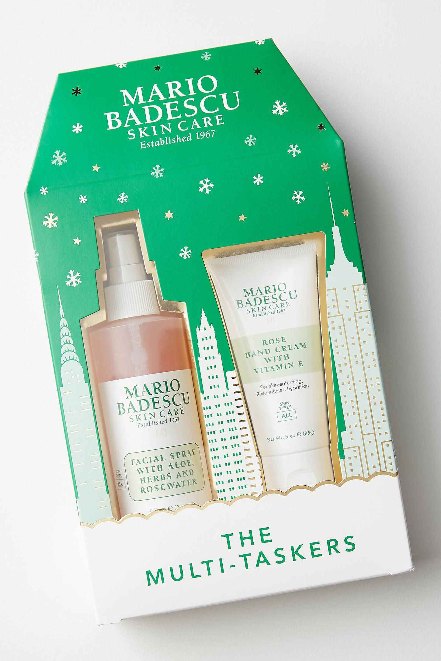Mario Badescu Rose Holiday Gift Set By In Green Size All