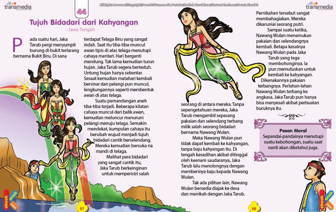 Download Ebook Dongeng Rakyat Jawa Tengah Pernikahan Jaka Tarub Dan