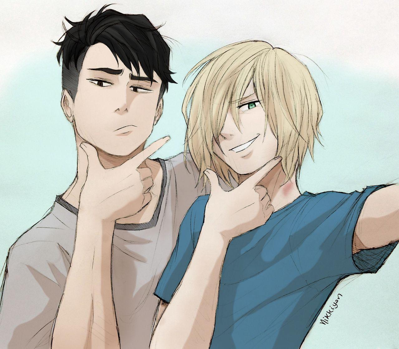 Yuri!!! On Ice comics, pics, and ships! - Otayuri pics