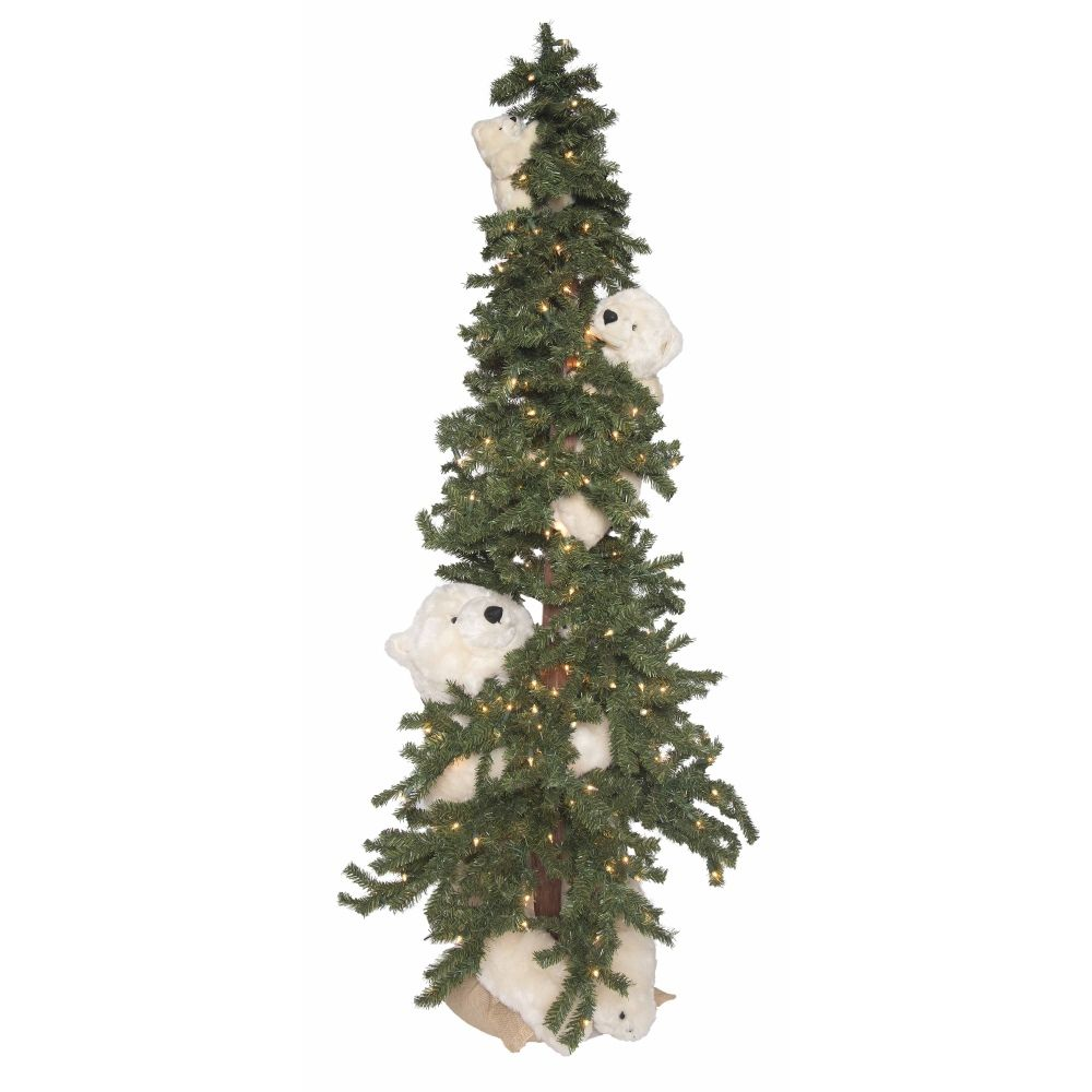 Ditz Designs Alpine Trio 70297 Polar Bear Christmas Tree Polar Bear Christmas Christmas Tree Alpine Tree
