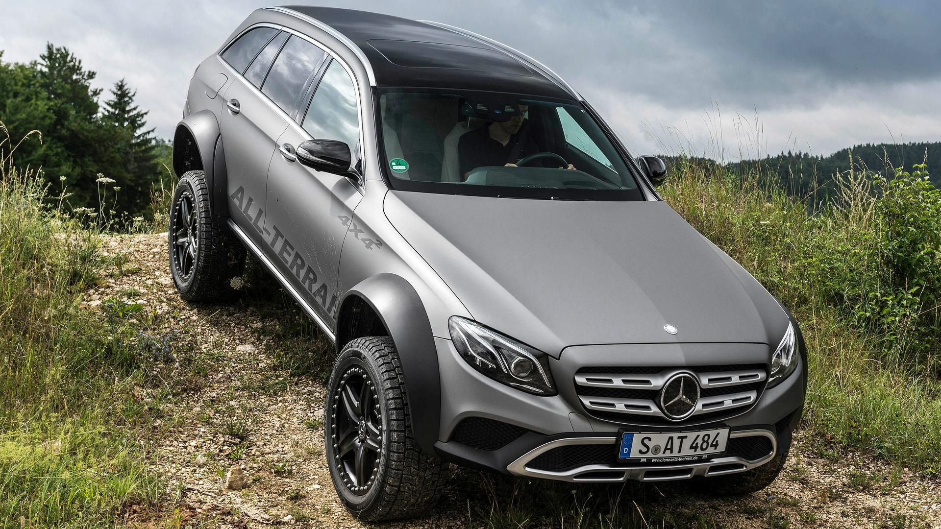 10 images with the hardcore Mercedes E-Class All-Terrain a wagon with  portal axles and more ground clearance than even the rugged G-Class