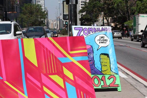Cavalete Parade, limpando a sujeira visual dos políticos e transformando em arte http://www.bluebus.com.br/cavalete-parede-limpando-a-sujeira-visual-dos-politicos-e-transformando-em-arte/