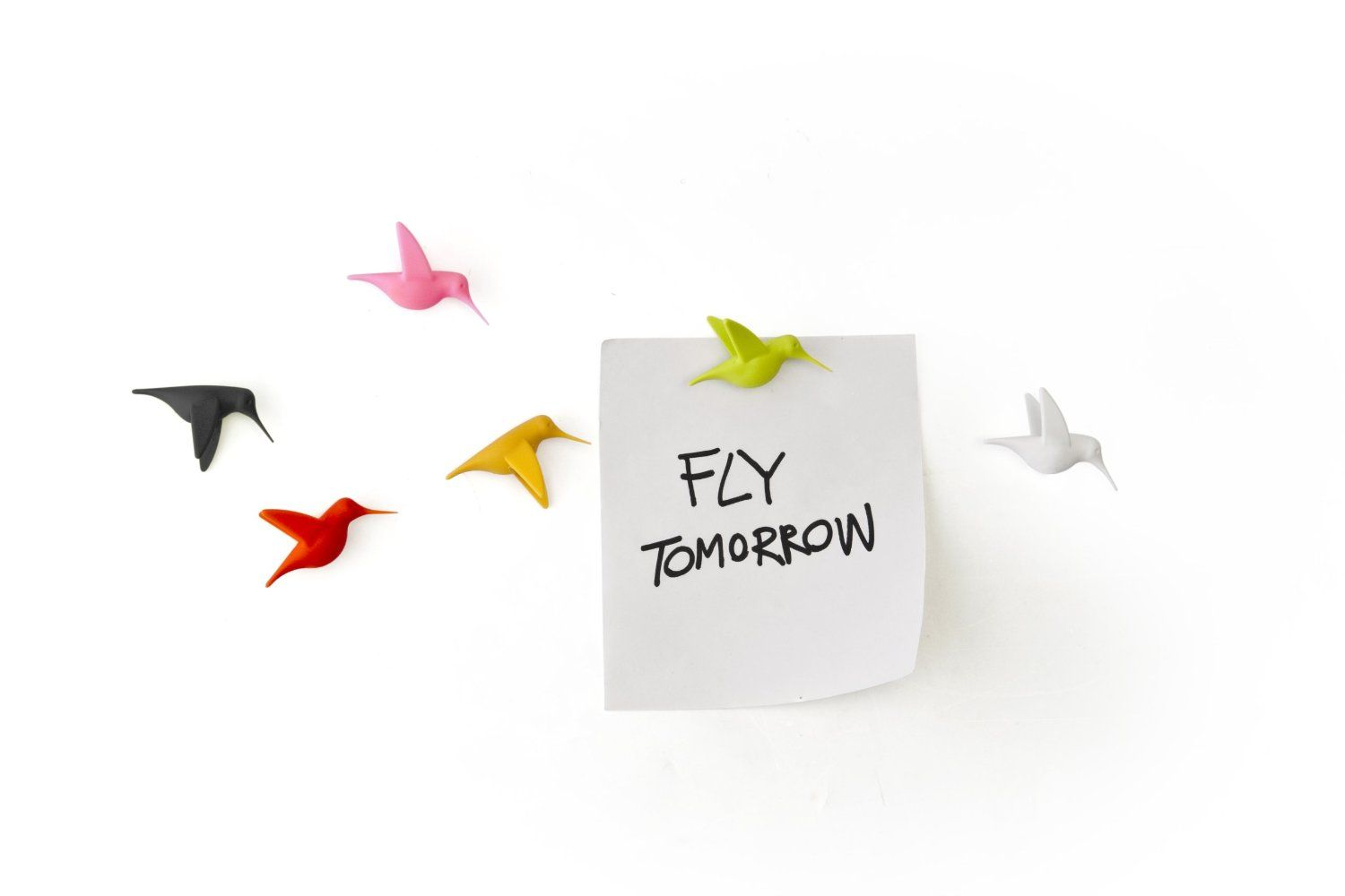 Hummingbird Message Magnets by Qualy. These might just be the cutest magnets ever! $19.99