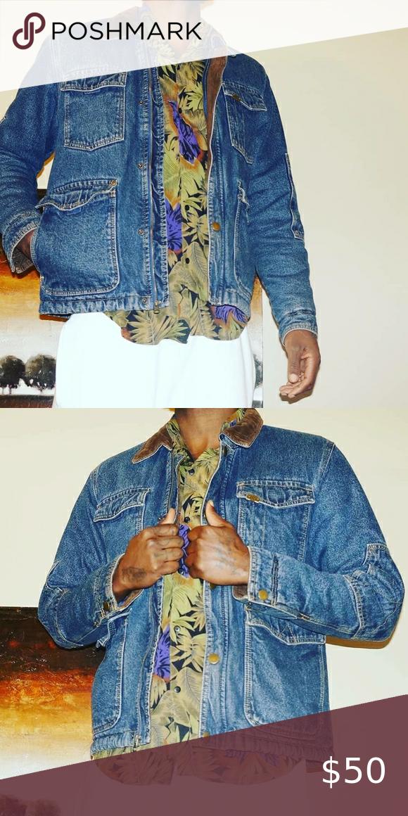Vintage Denim Wrangler Jacket In 2020 Vintage Denim Vintage Wrangler Denim Jacket