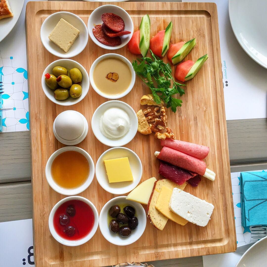 Adventure Is Out There On Instagram Classic Turkish Breakfast Plate At Nadia Ottoman Kitchen Breakfast Plate Turkish Recipes Turkish Breakfast
