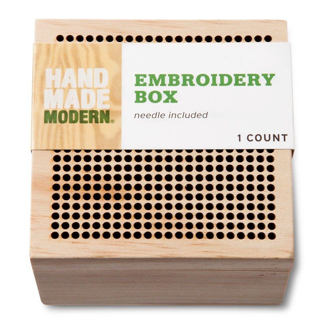 Hand Made Modern - Wood Grid Top Box
