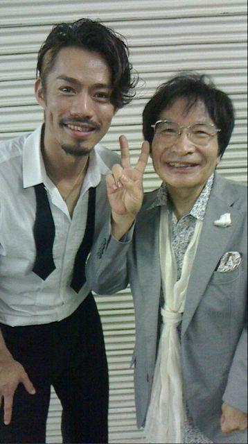 With Ogi-mama : PIW 2014