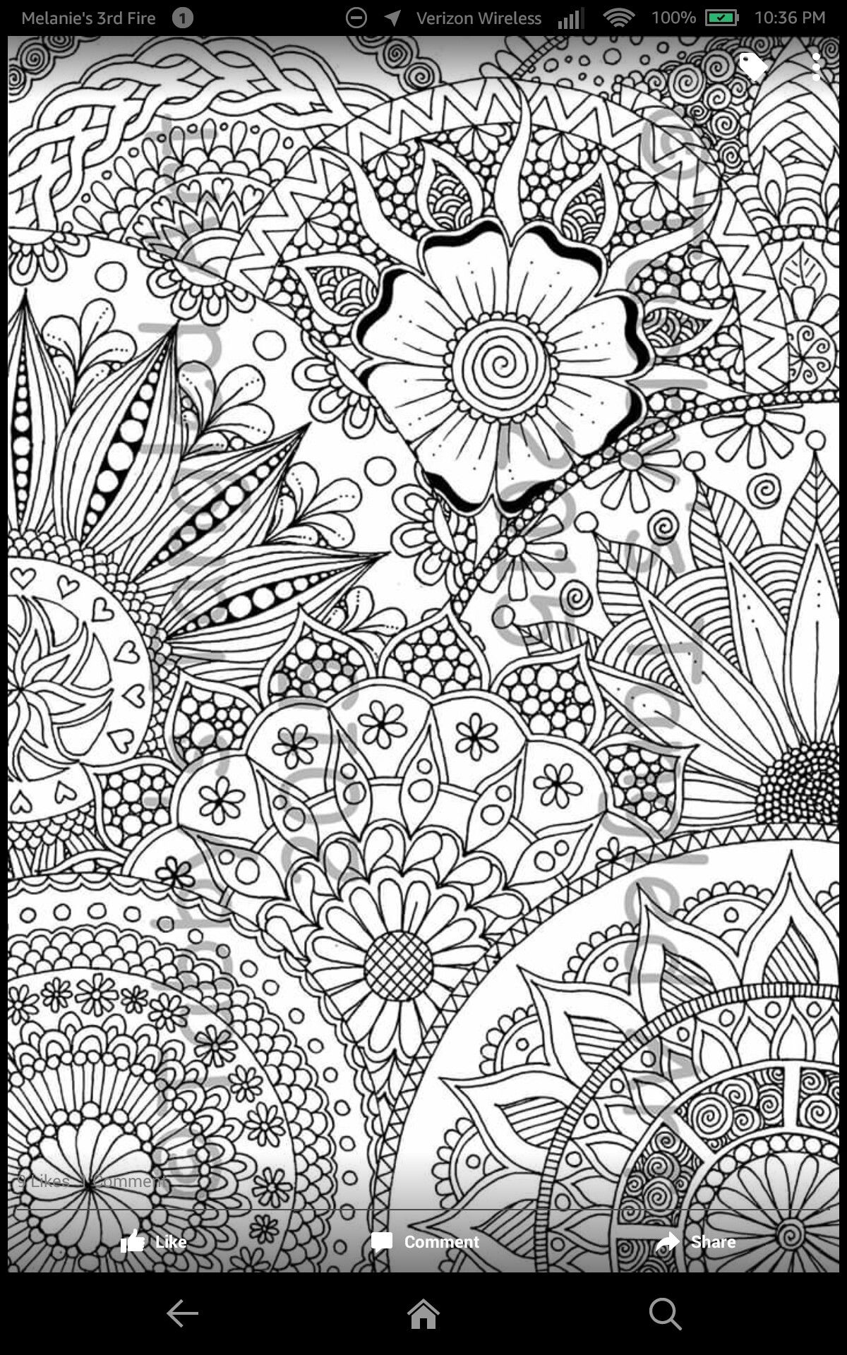 Healthy Lifestyle Stress Management Adult Coloring Adult