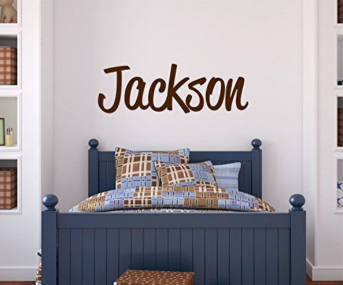 Boys Name Wall Decal Personalized Name Custom Wall Decal Lil - Personalized custom vinyl wall decals for nurserypersonalized wall decals for kids rooms wall art personalized