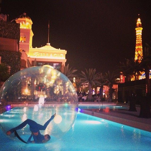 Water Sphere Las Vegas, Special Event At Cosmopolitan Pool