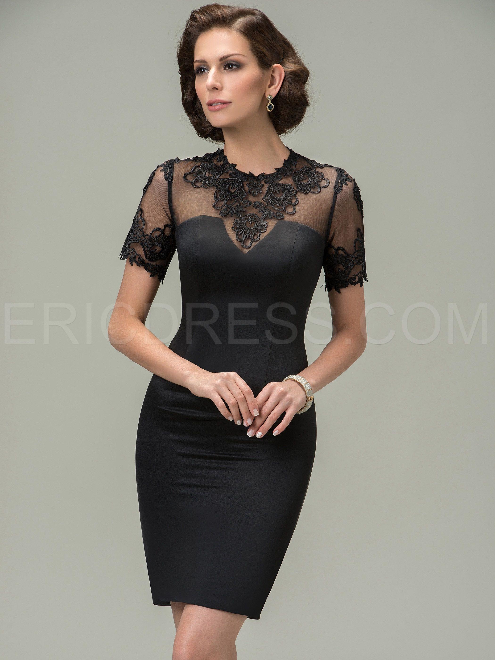 232f6854e5d Jewel Appliques Short Sleeves Mother of the Bride Dress Mother of the Bride  Dresses 2015- ericdress.com 11292069
