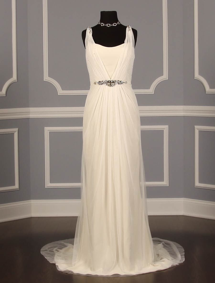 Badgley Mischka Virgo Discount Designer Wedding Dress~ The ...
