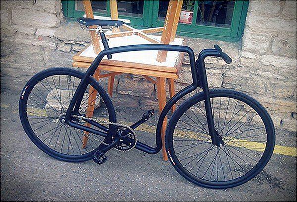 シートチューブがない 重さわずか5キロの自転車フレーム Viks えん乗り 自転車 自転車 フレーム シート