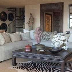 """My houses are passions,"" says Cher, whose stunning duplex in LA was done by interior designer Martyn Lawrence-Bullard."