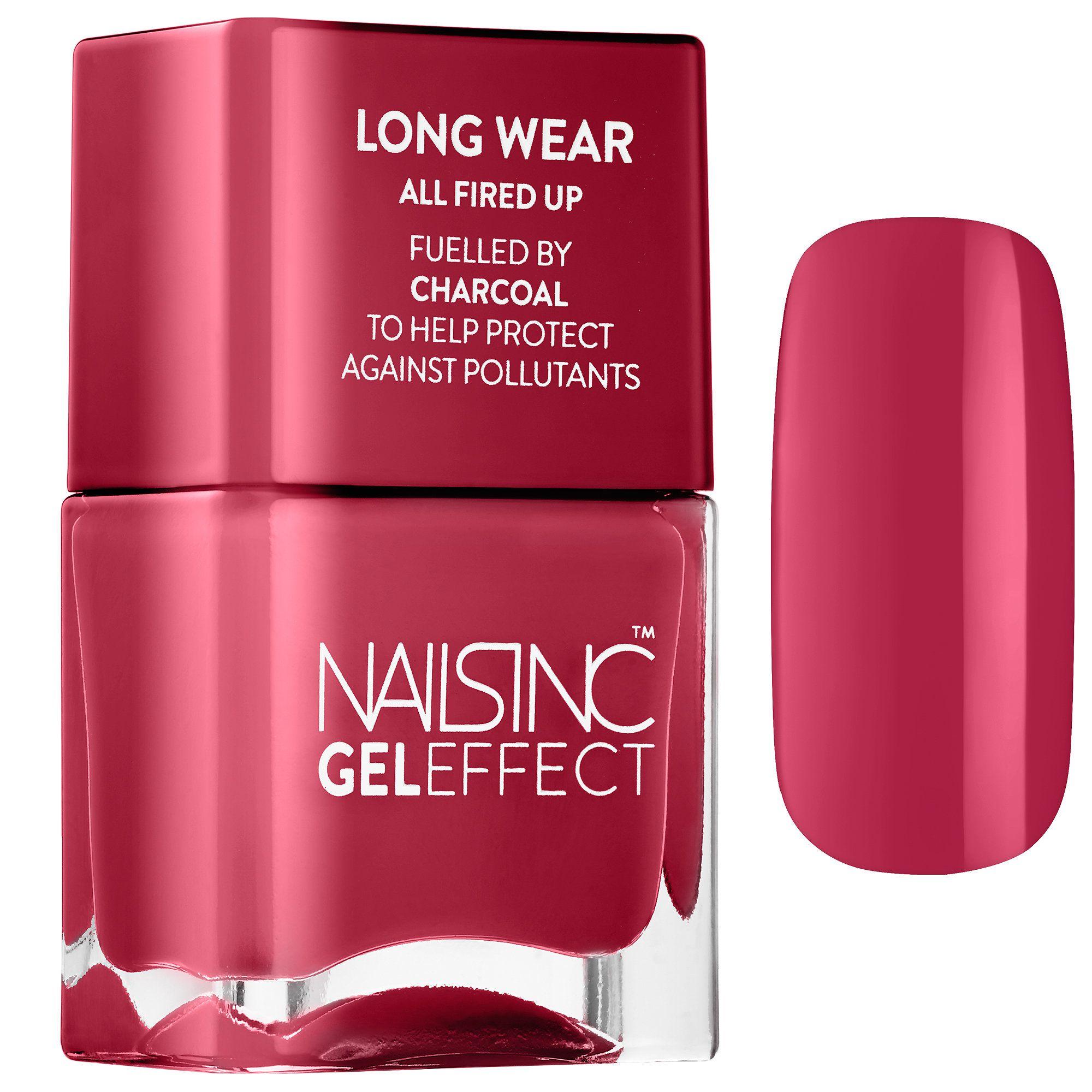 Nails inc gel nail colors and gel nail polish on pinterest - Shop Nails Inc S Nail Polish Fuelled By Charcoal At Sephora This Nail Gel
