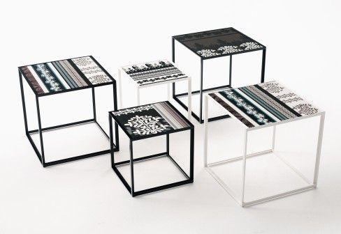 Small Table: CANASTA – Collection: B&B Italia Outdoor – Design: Patricia Urquiola