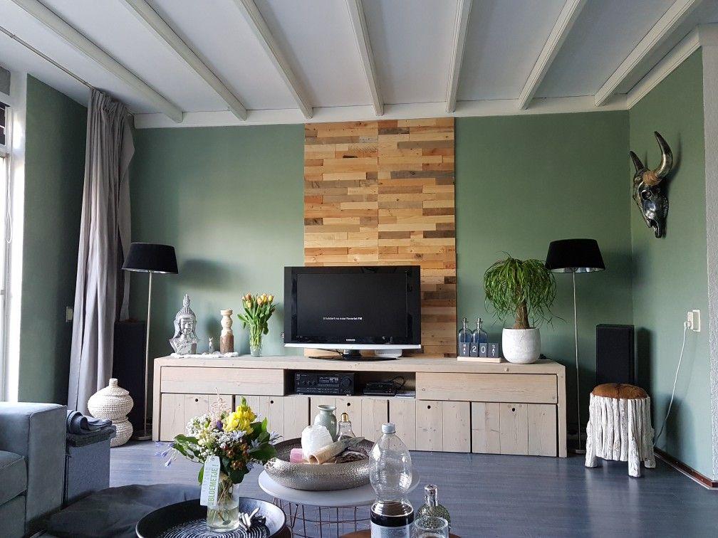 Histor geordend groen  kleur muur in 2019  Home Decor