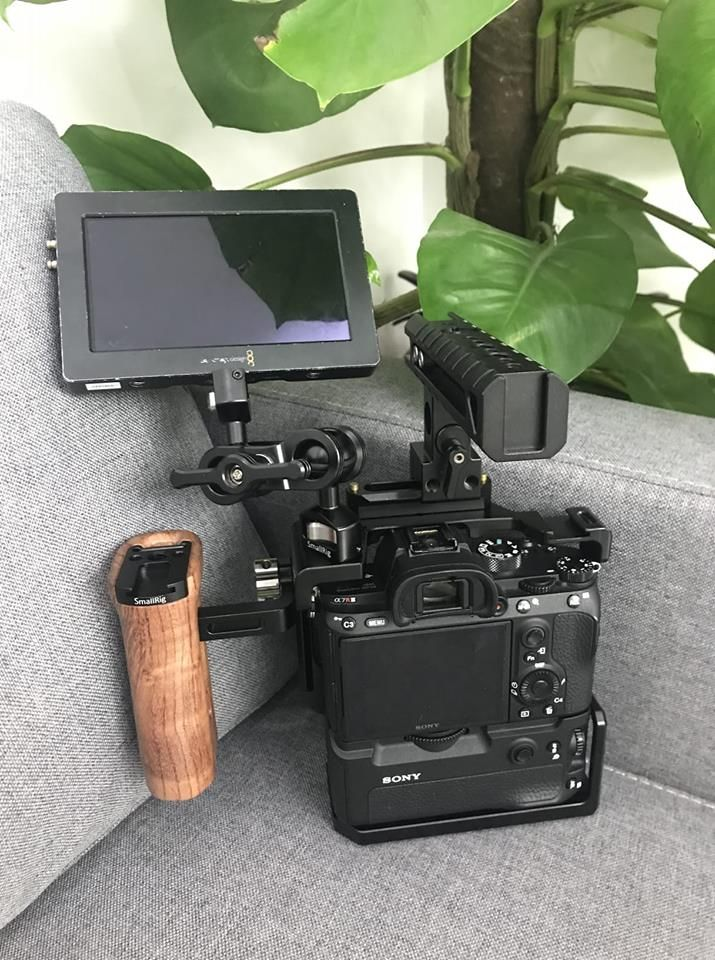 Cage For Sony A7riii A7m3 A7iii With Vg C3em Vertical Grip