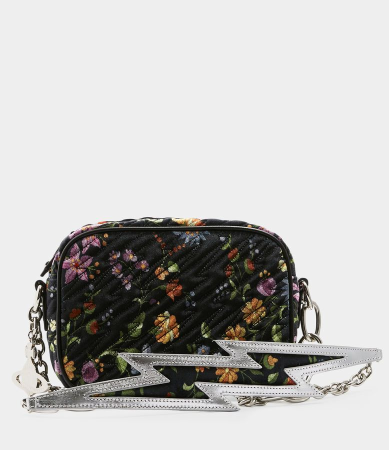 b07d3fcebf Vivienne Westwood Women's Designer Handbags | Shop Vivienne Westwood -  Velvet Coventry Camera Bag Flower