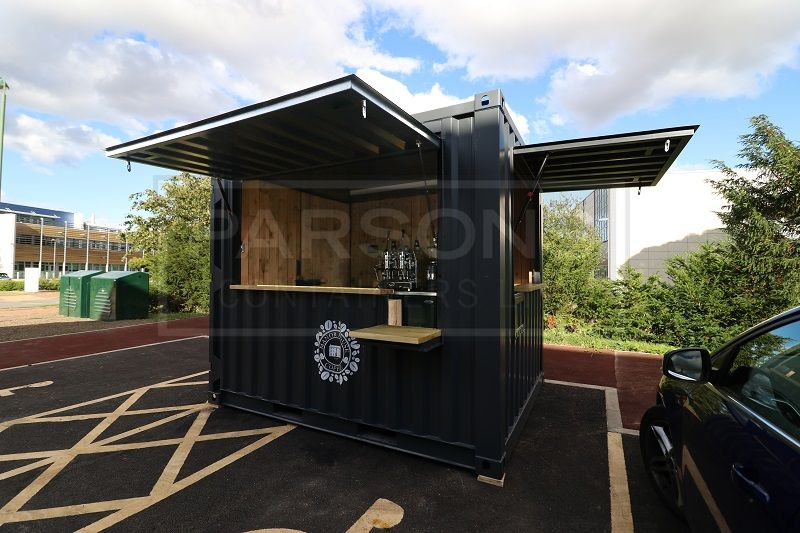 10ft New Bespoke Coffee Shop Container Conversion Mobile Coffee Shop Container Shop Coffee Shop