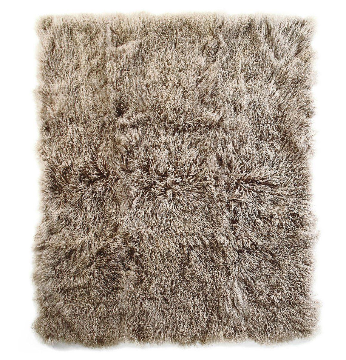 Tibetan Sheepskin Throw - Parker Wool
