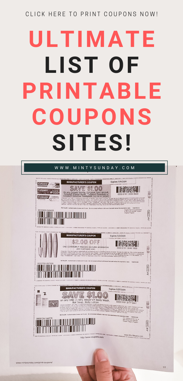 Where To Get Coupons Print Coupons Where To Get Coupons Couponing For Beginners
