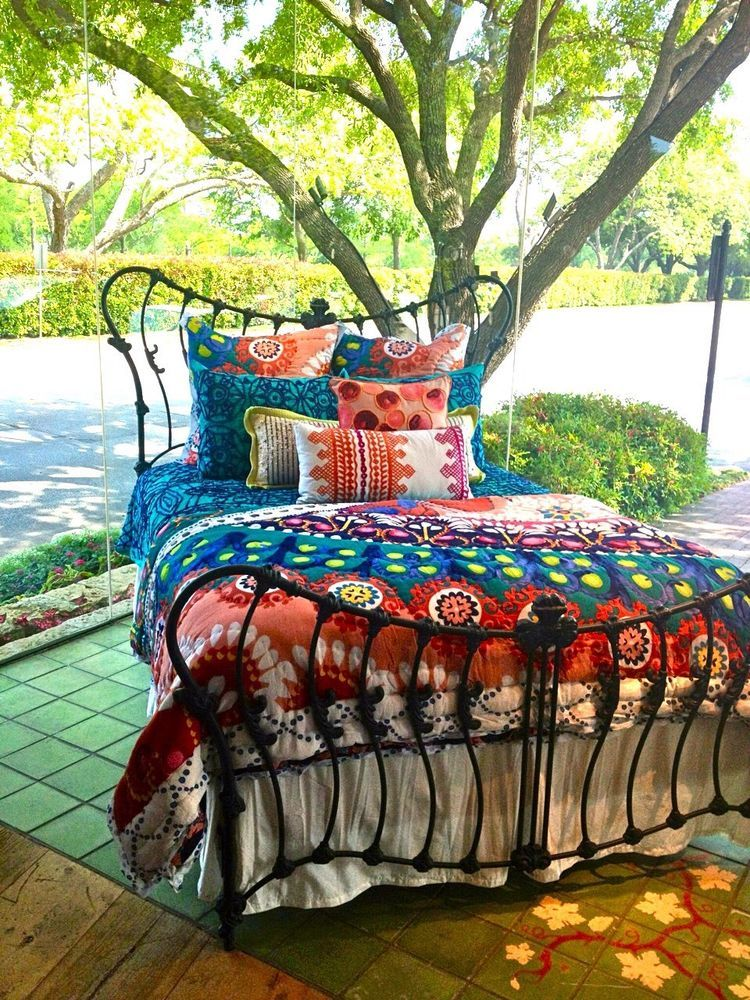 Anthropologie Tahla Reversible King Hothouse Quilt Collection Red Motif Nwot Anthropology Bedroom Hothouse Queen Quilt