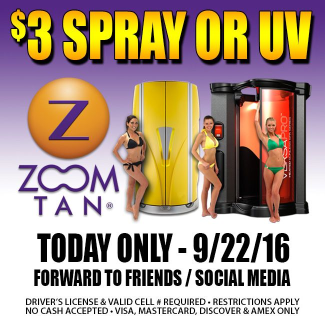 50% off with Zoom Tan. Catch the ending promotion on online products of Zoom Tan, select what you prefer while enjoy the offer: