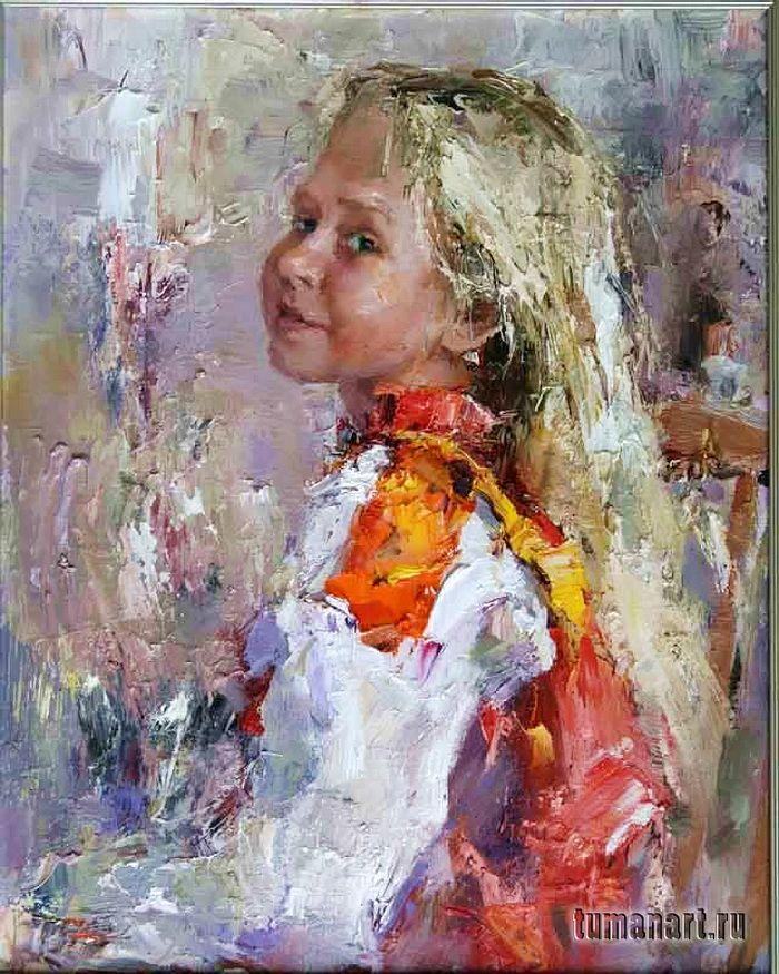 Туман Жумабаев 1962 | Russian Impressionist painter