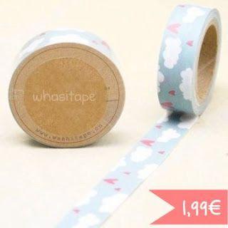 #WhasiTape Nubes #scrap www.itd-shop.blogspot.com