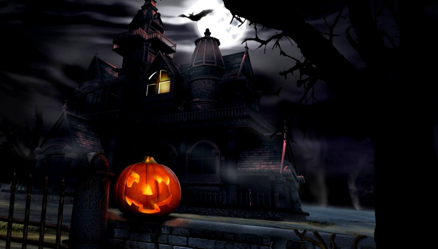 Free Halloween 3d Background Image Free Halloween Wallpaper Halloween Desktop Wallpaper Spooky House