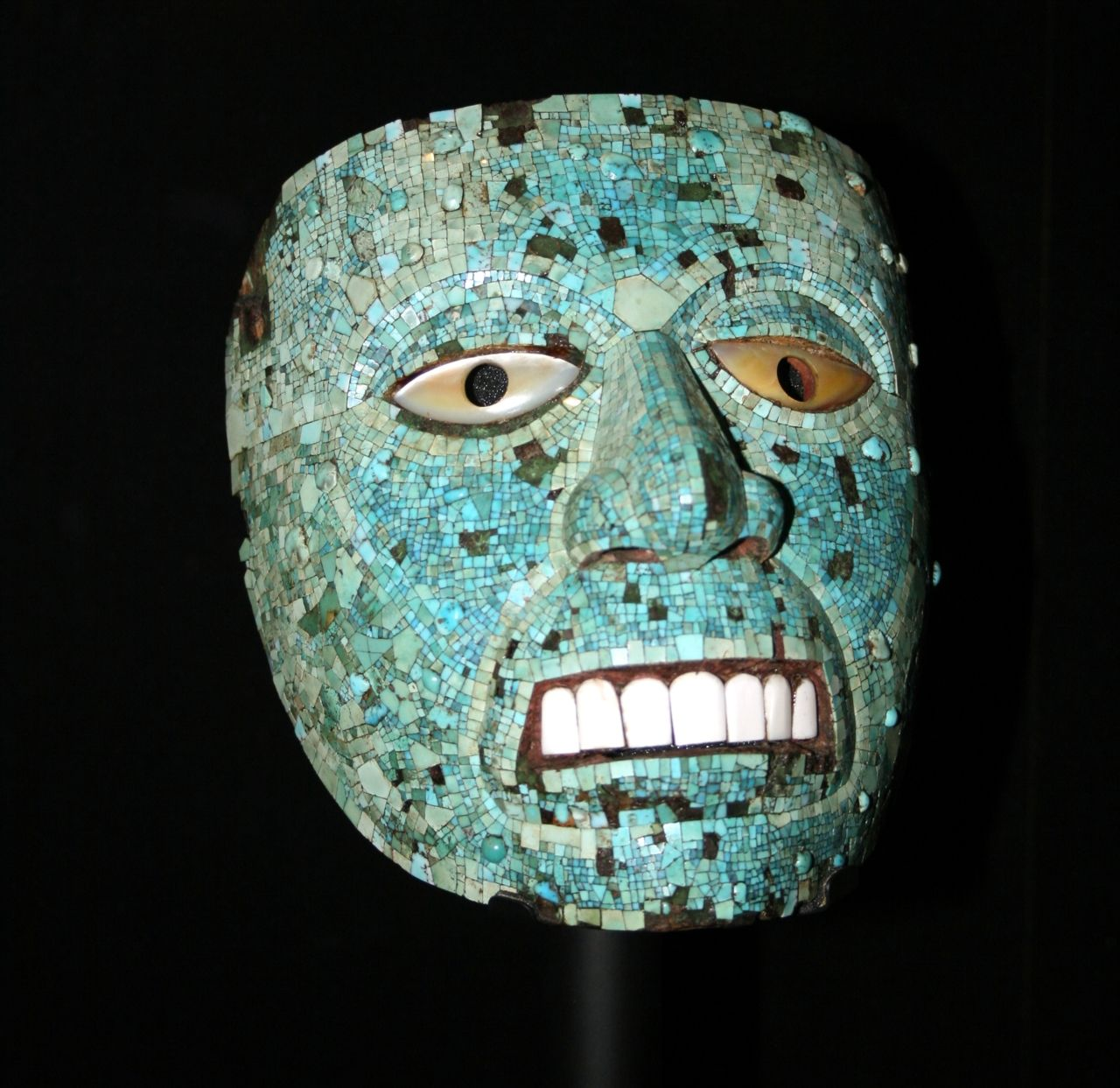 Ancient Aztec Mask Of Xiuhtecuhtli Ad